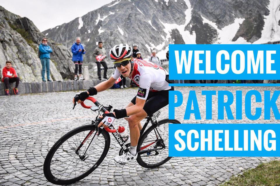 Swiss climber Patrick Schelling to join Israel cycling Academy