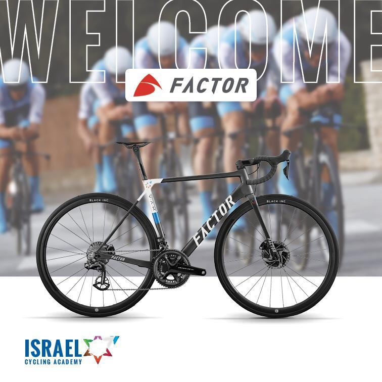 ICA and Factor bikes have signed a one-year partnership
