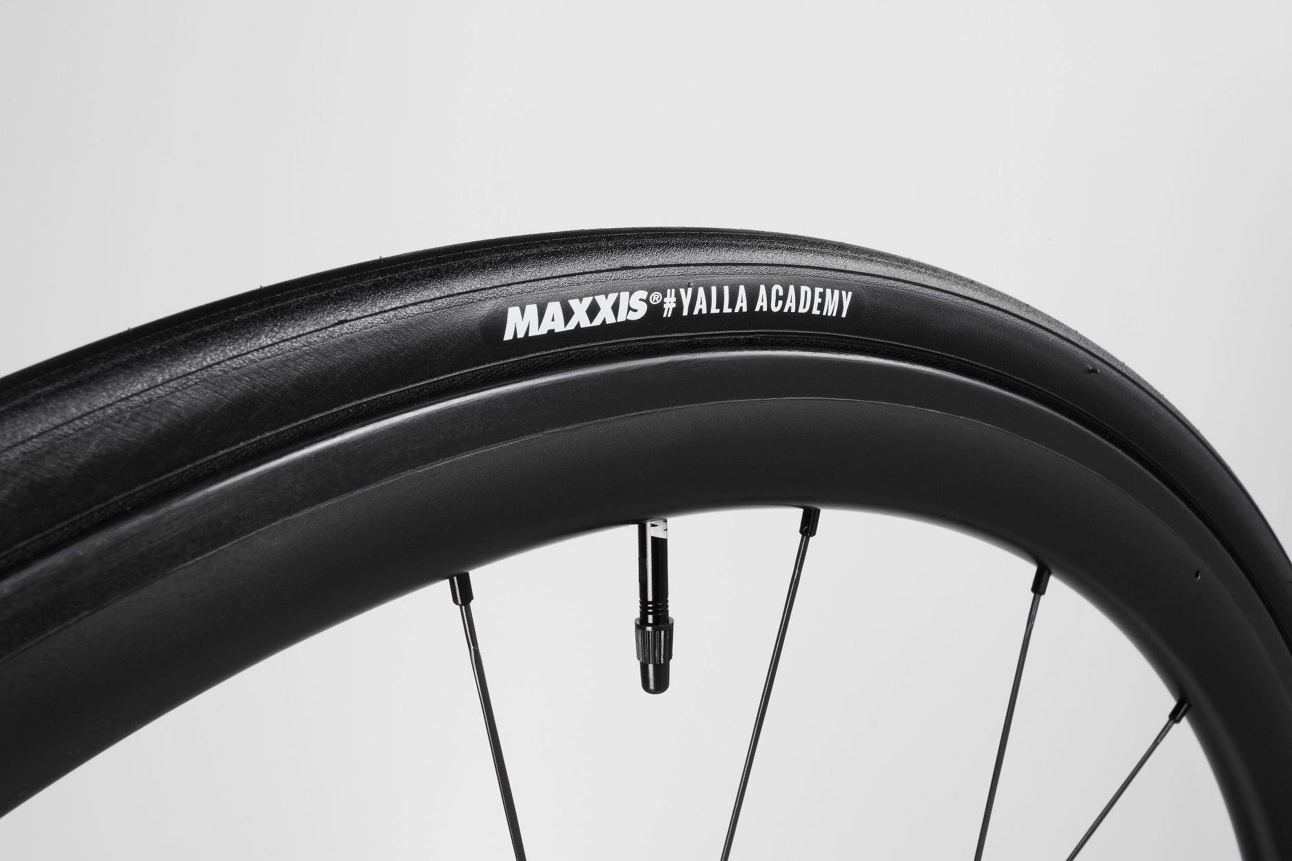 Maxxis tires renews partnership with israel cycling academy