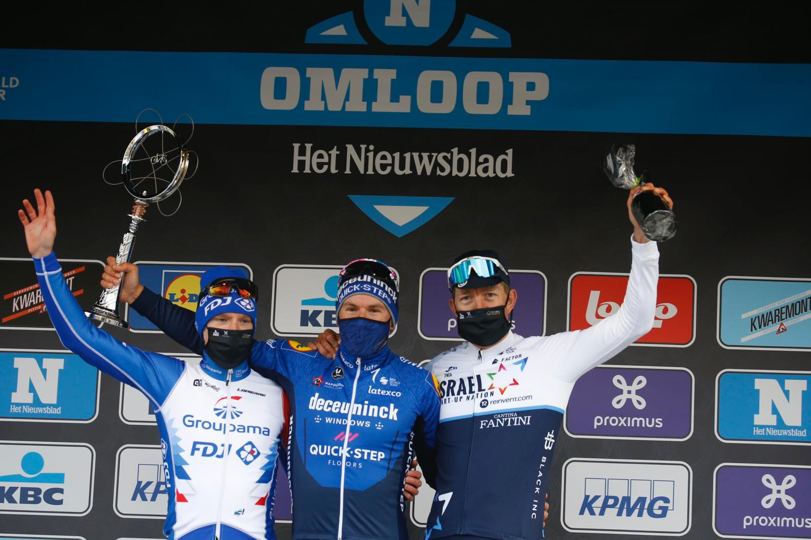 Sep Vanmarcke back on the podium in Omloop Het Nieuwsblad