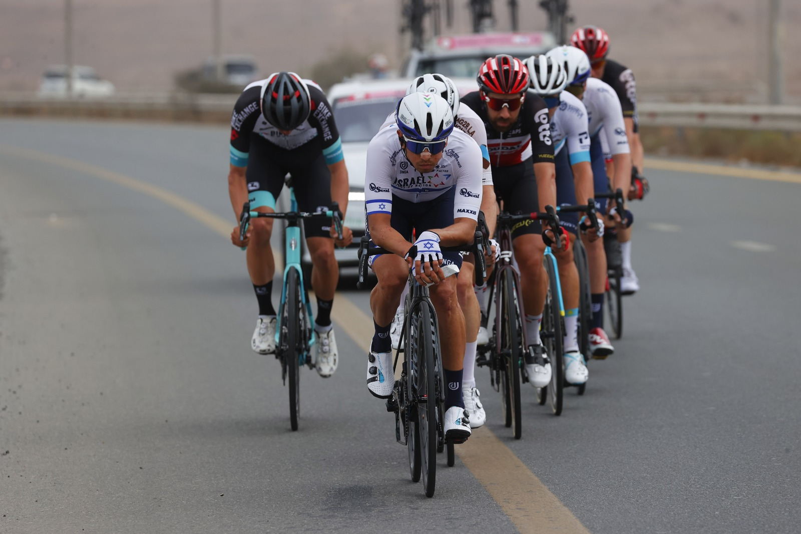 Goldstein and Dowsett break away in UAE, Hermans and Froome continue to improve performances