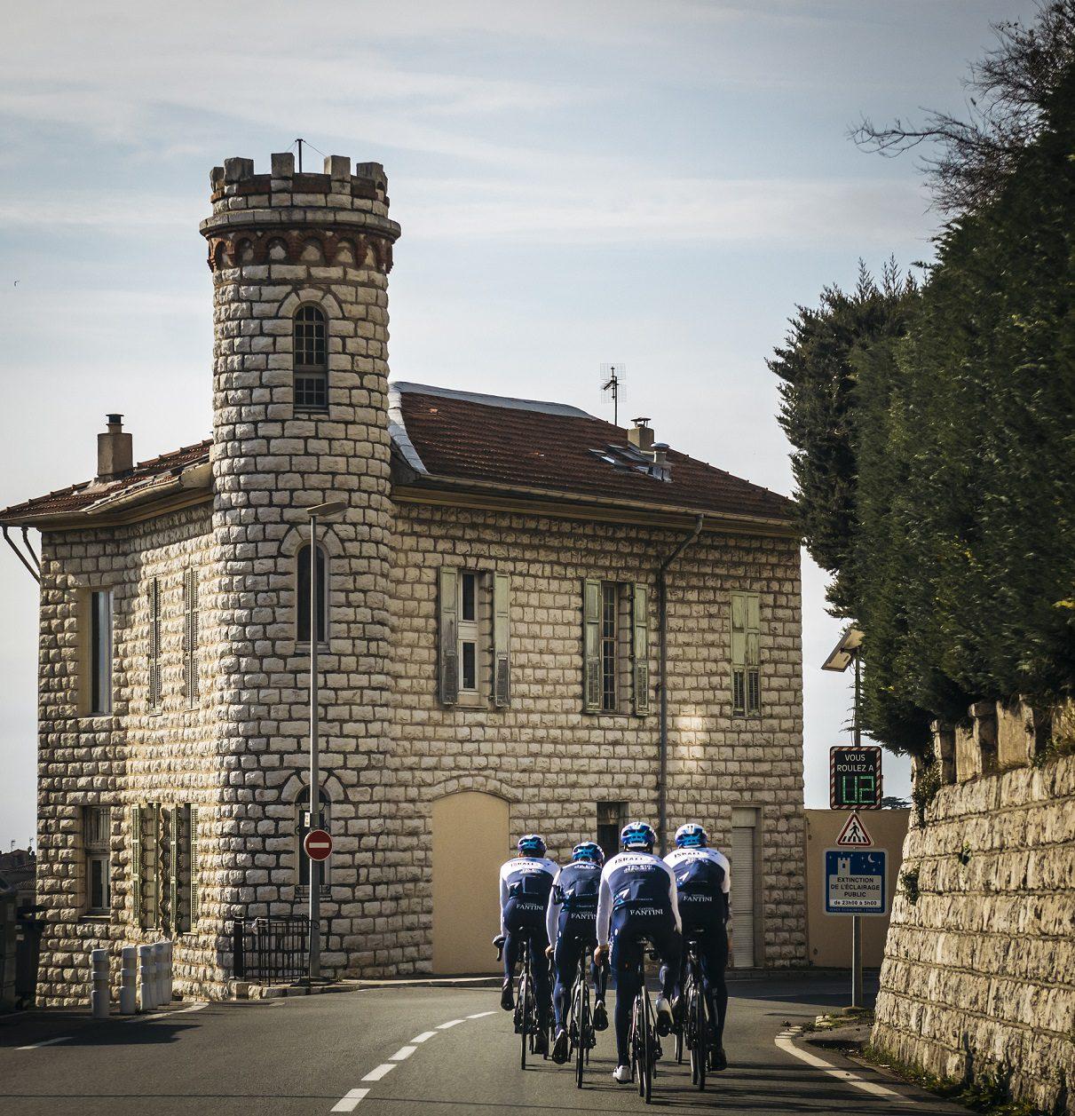 Woods and Martin lead ISN at the Tour des Alpes-Maritimes et du Var