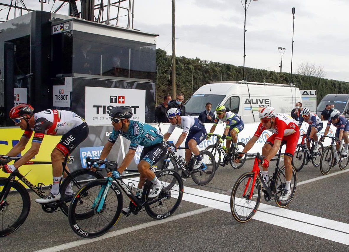 Rudy Barbier makes Top10 on stage 5 of Paris-Nice