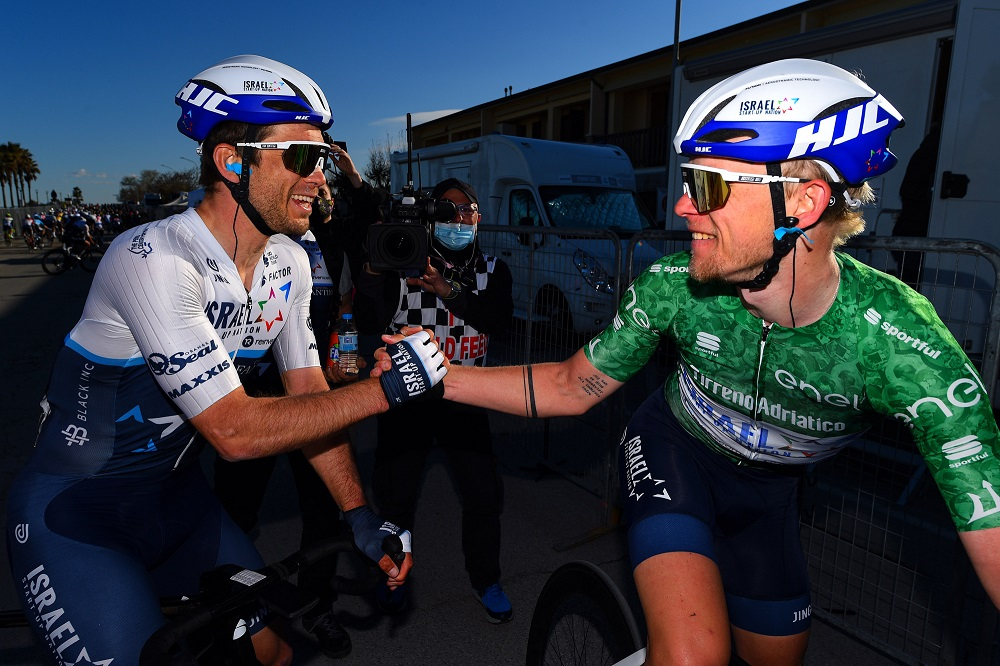 Israel Start-Up Nation punching above its weight in Tirreno-Adriatico