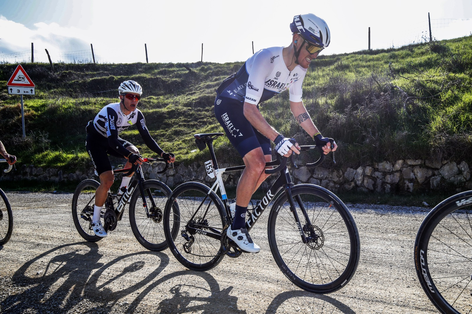 Israel Start-Up Nation experiences challenging and exhausting Strade Bianche