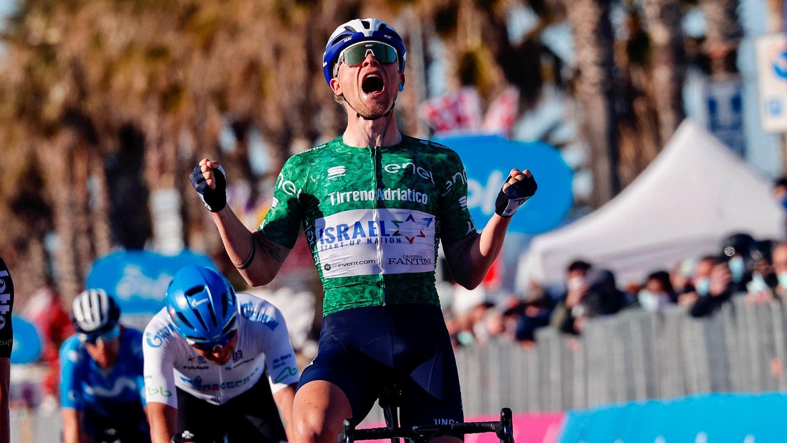 VIDEO: MAXIMUM MADS – Würtz wins stage 6 Tirreno-Adriatico 2021