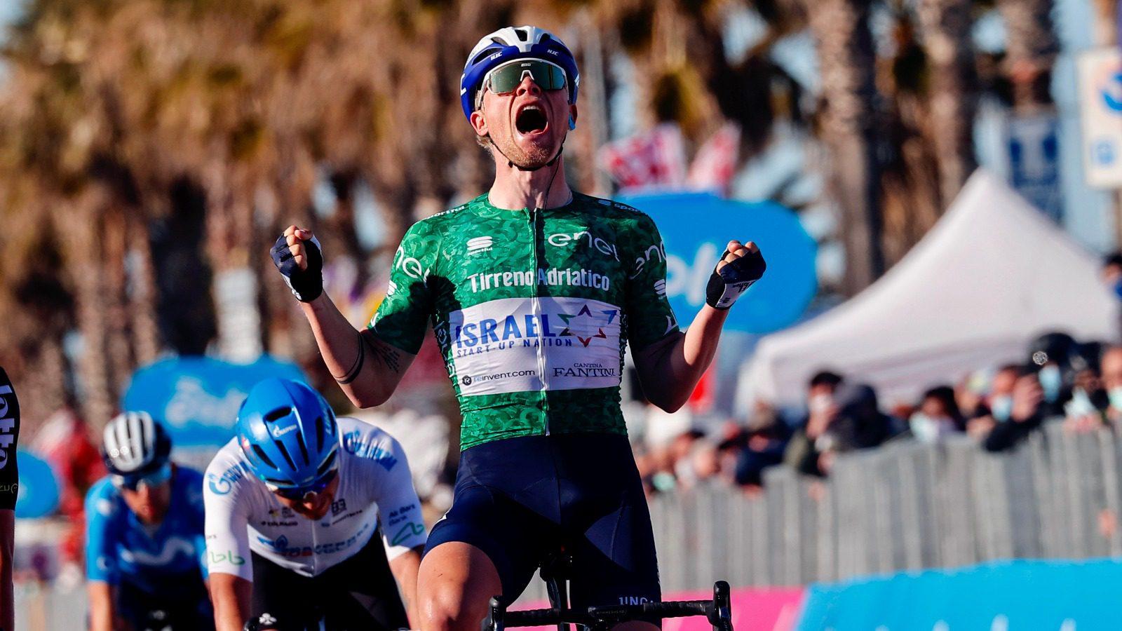 VIDEO: MAXIMUM MADS – Würtz wins stage 6 Tirreno-Adriatico 2021