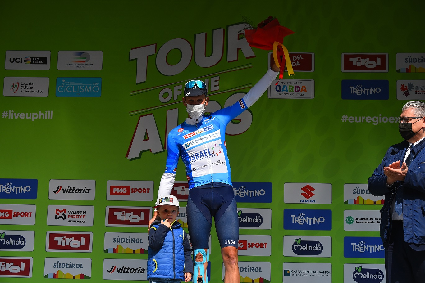 De Marchi takes third place and the KOM jersey