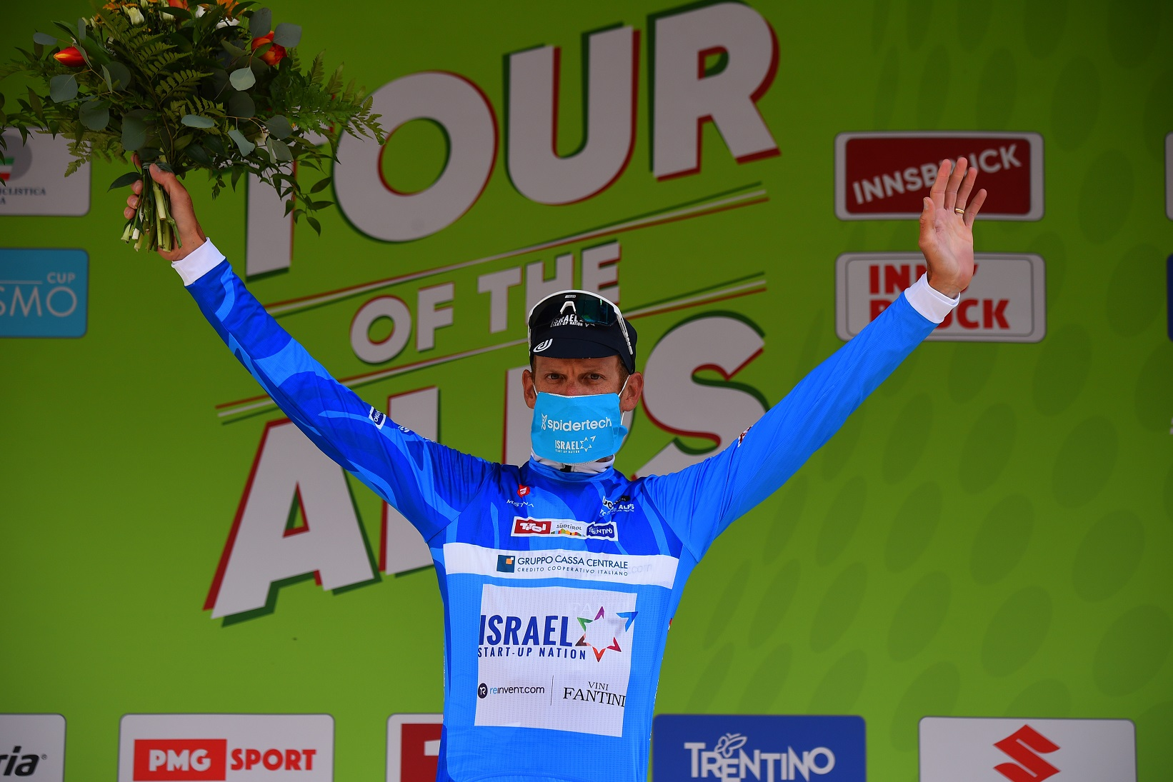 De Marchi takes the KOM jersey on stage 1 of Tour of the Alps