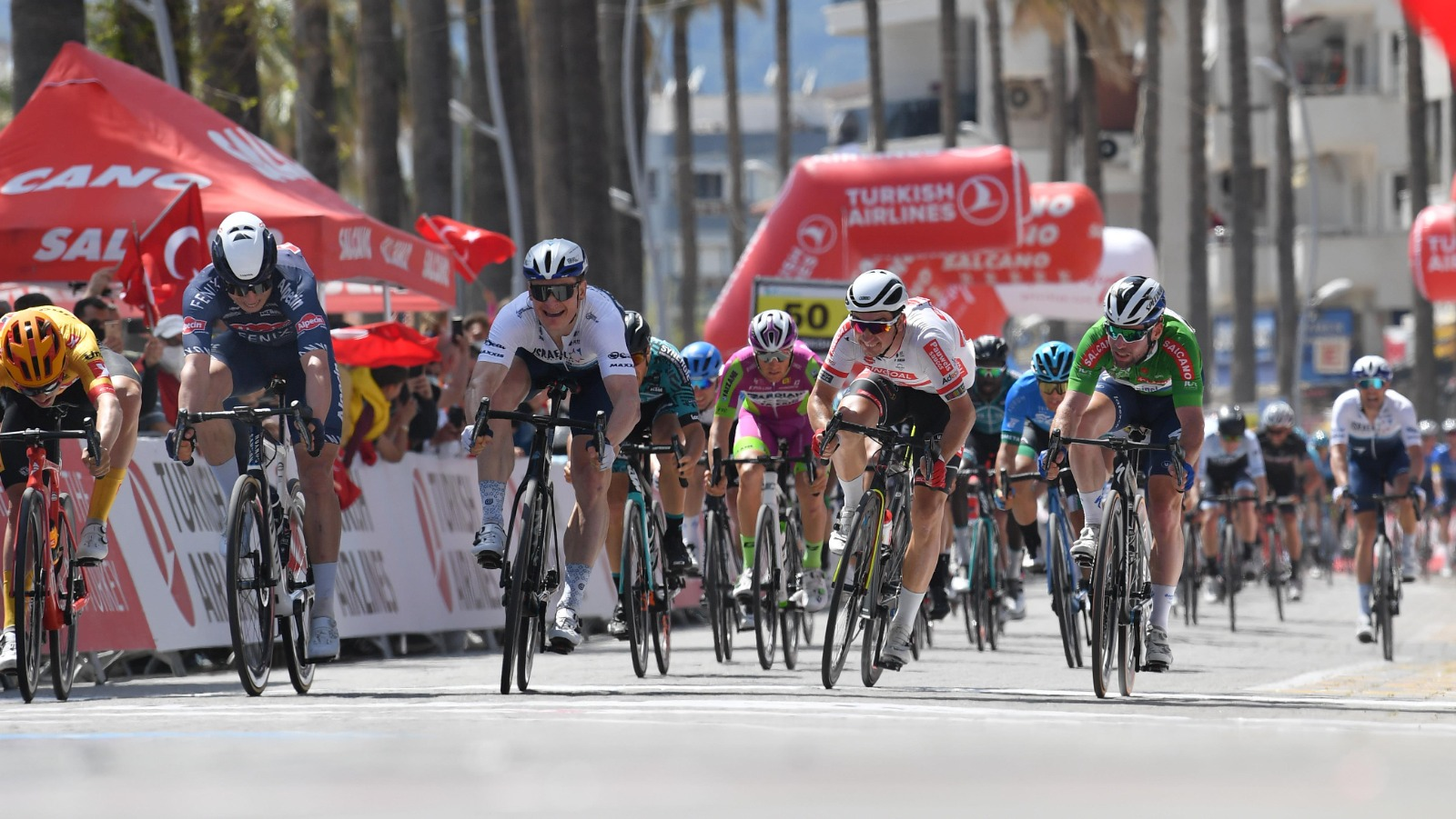 Greipel close to victory in Turkey, podiums again