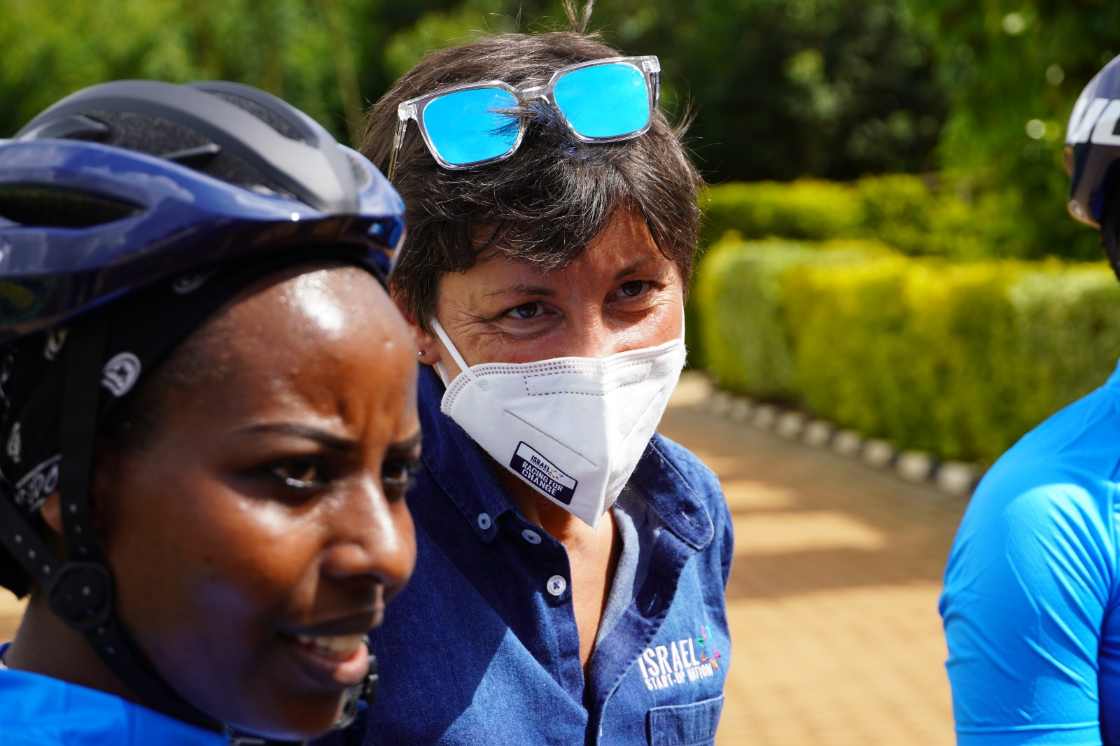 #RacingForChange: our visit to the only women's cycling club in Rwanda