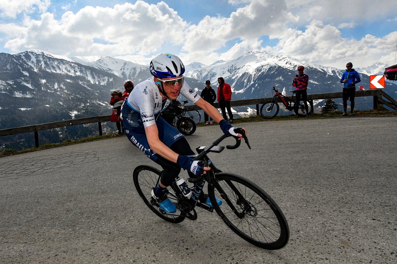 Third place for Dan Martin on stage 2 of Tour of the Alps