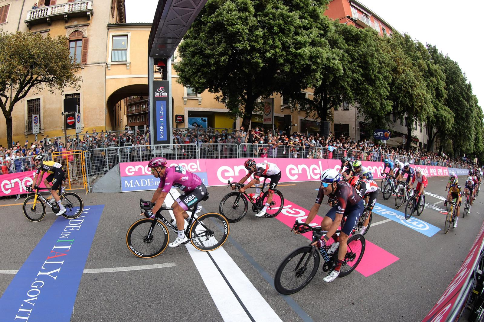 Cimolai sprints to fourth place in thirteenth stage of Giro