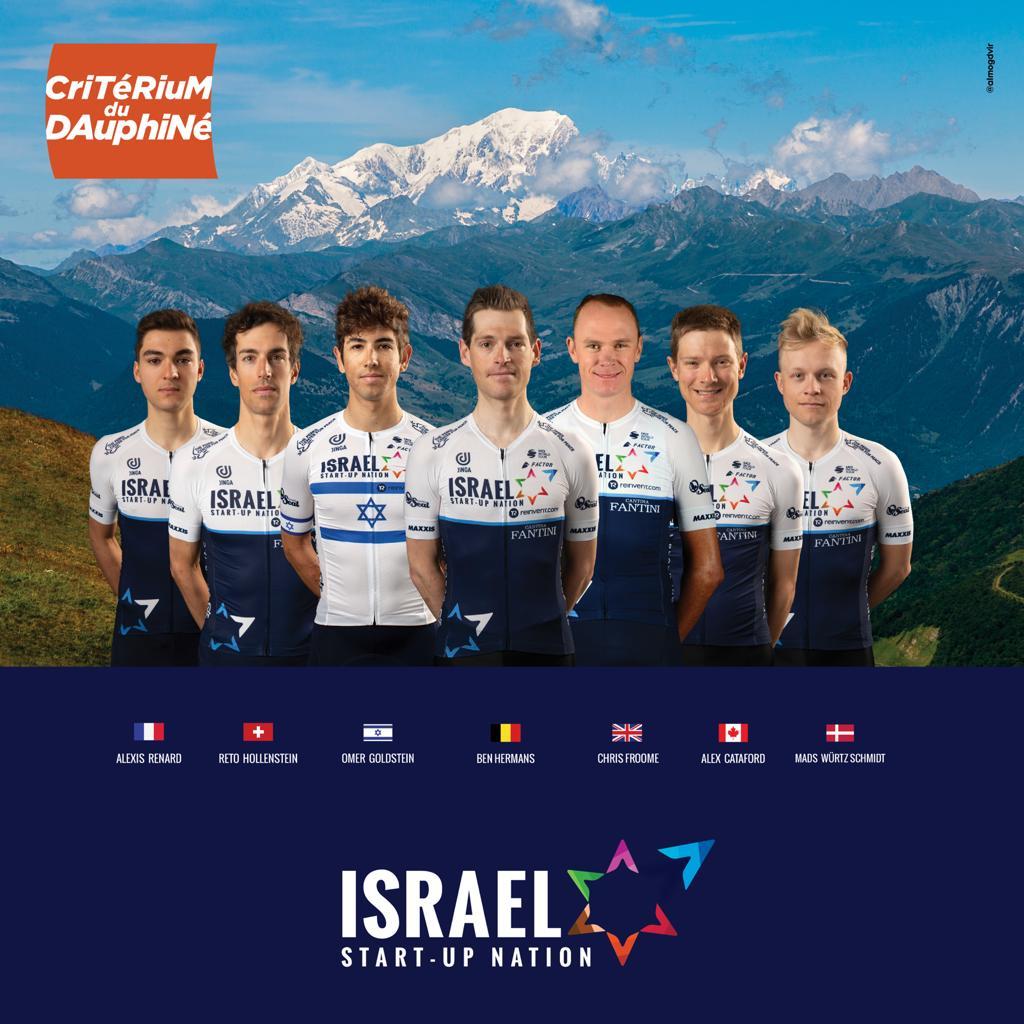 ISN lineup for Critérium du Dauphiné