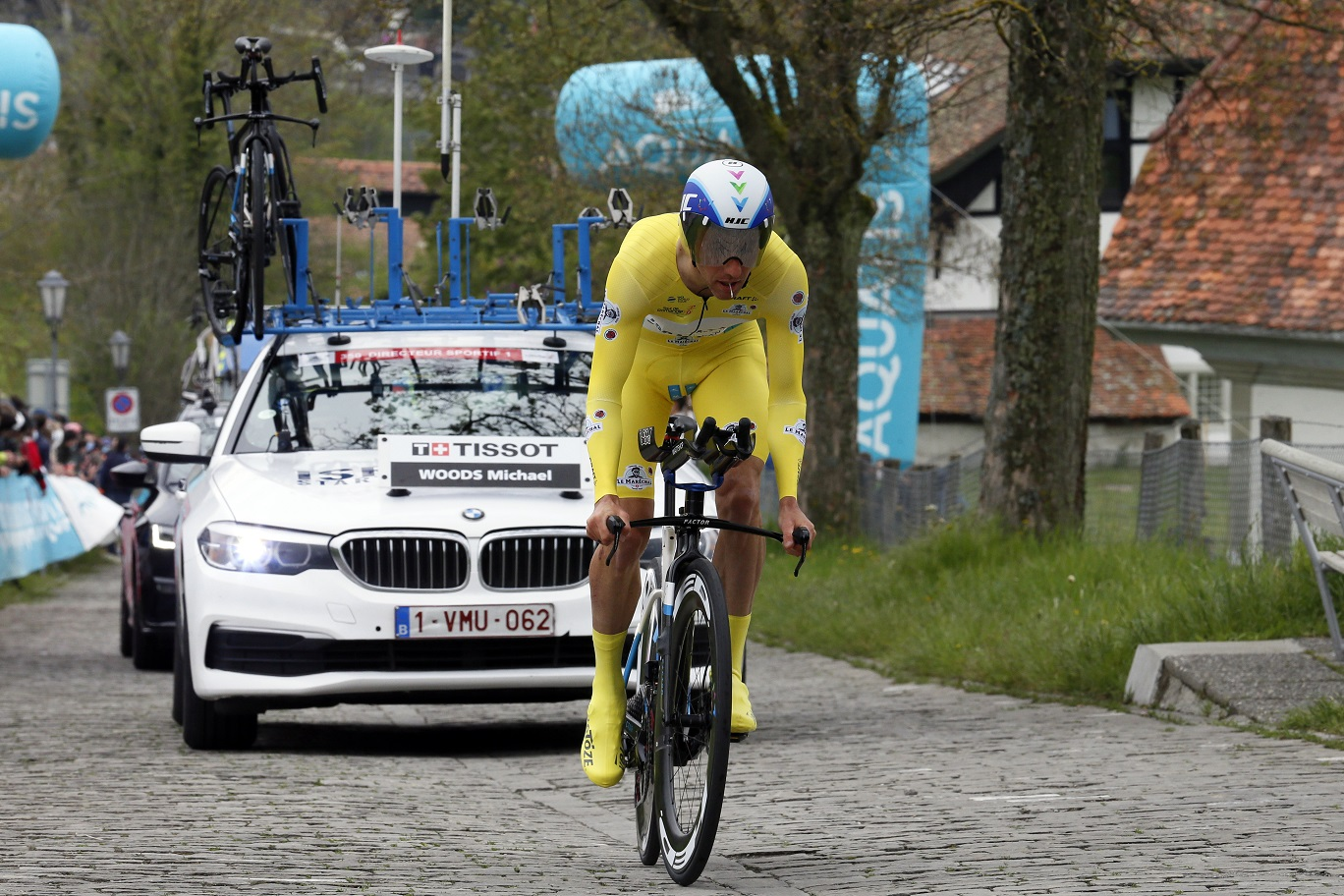 Woods finishes fifth overall in Tour de Romandie