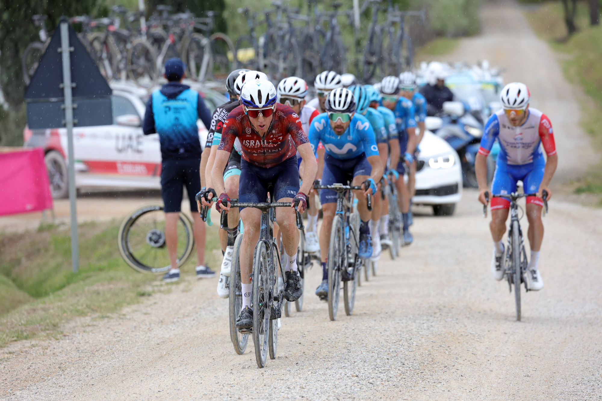 Gravel 'Giorno' Giro: not ISN's favorite stage – we lost time