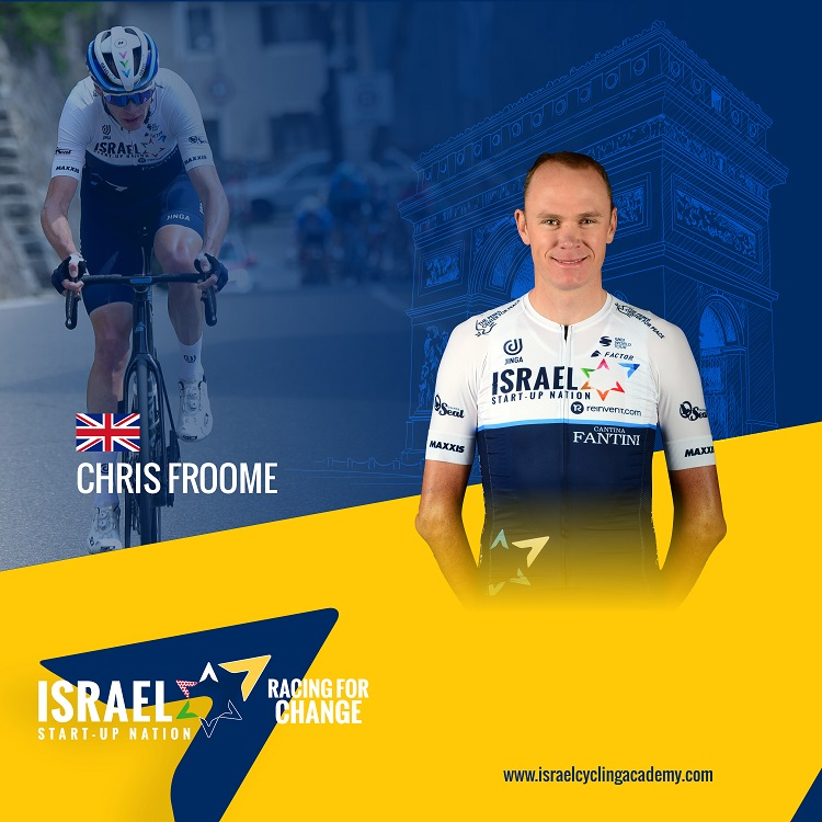 Chris Froome ready for first Tour de France with ISN