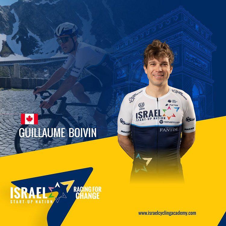 Boivin makes Tour de France debut with ISN