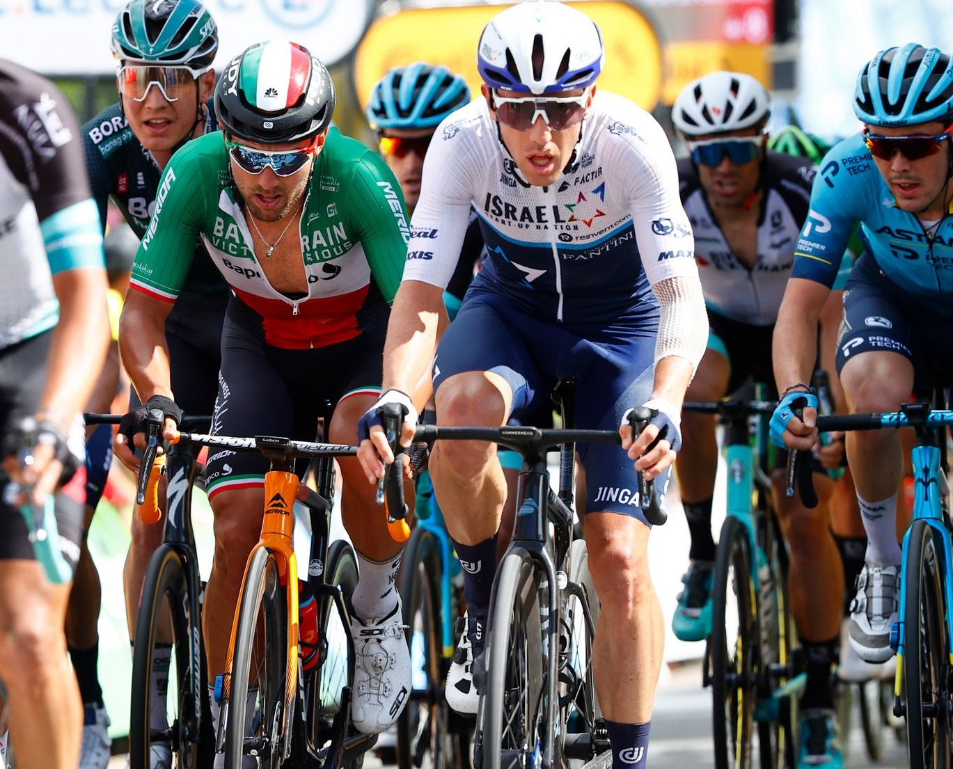 Woods bounces back with a strong performance on stage 2 of Tour de France