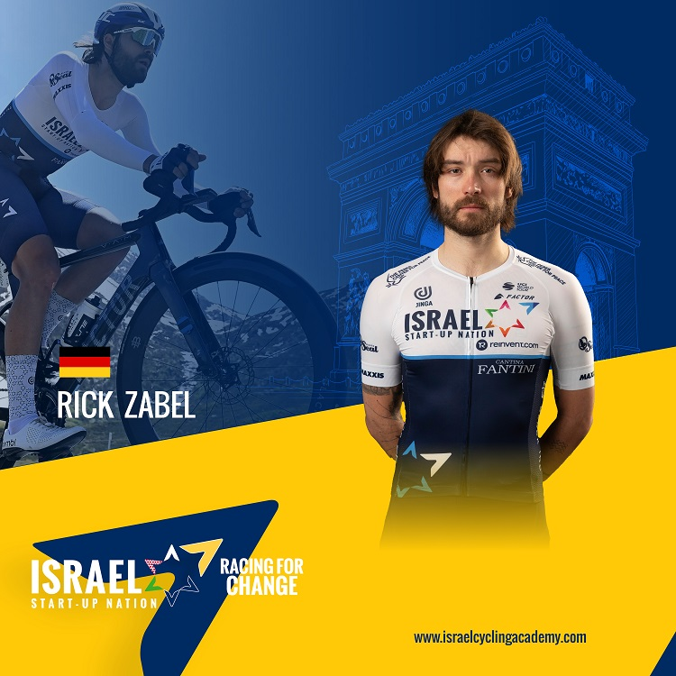 Zabel with dual role in first Tour de France for ISN