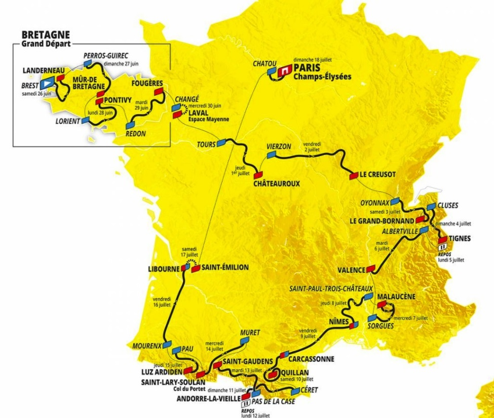 Tour de France: Preview of all the stages